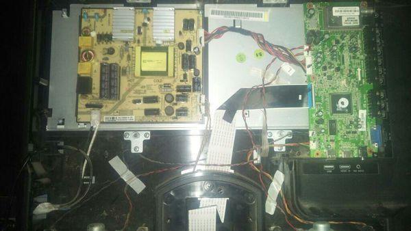 机头,海尔H32E07液晶电视,捕鱼你好闪下就无开机器蓝屏图纸图片