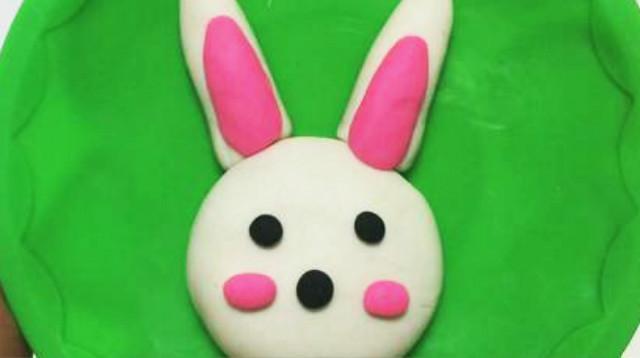 橡皮泥手工制作图片兔_小兔子橡皮泥制作过程