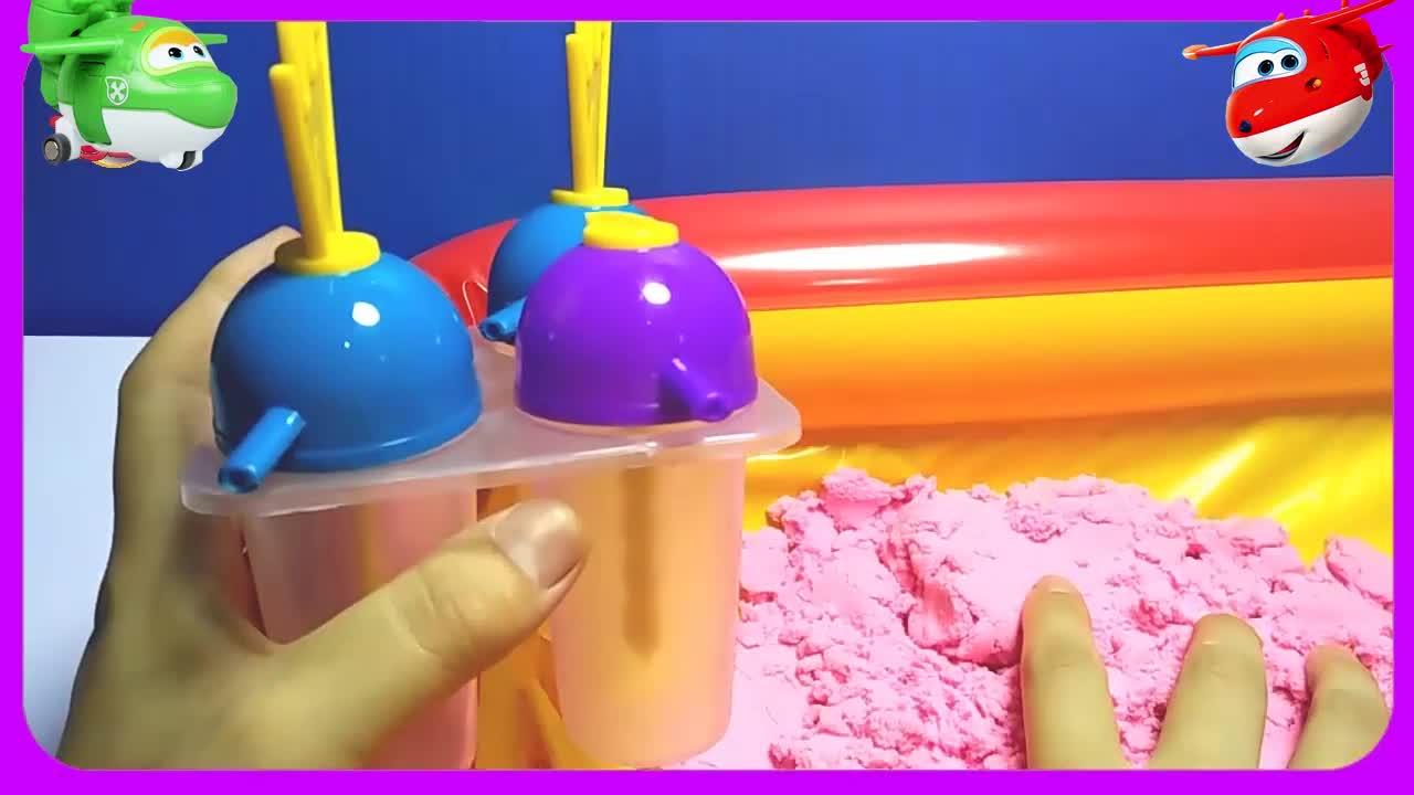 做雪糕太空沙橡皮泥黏土粉红猪小妹小猪佩奇火影忍者奥特曼超级.