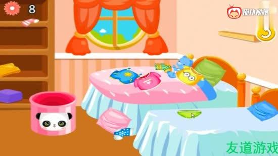 小猪佩奇整理房屋小猪佩