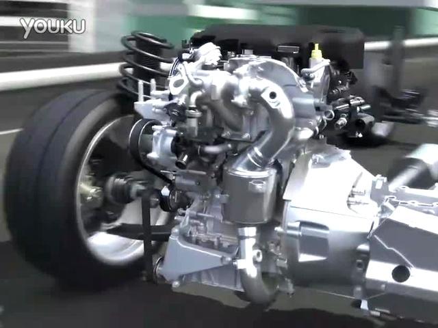 福特1.0t ecoboost三缸涡轮增压发动机工作原理