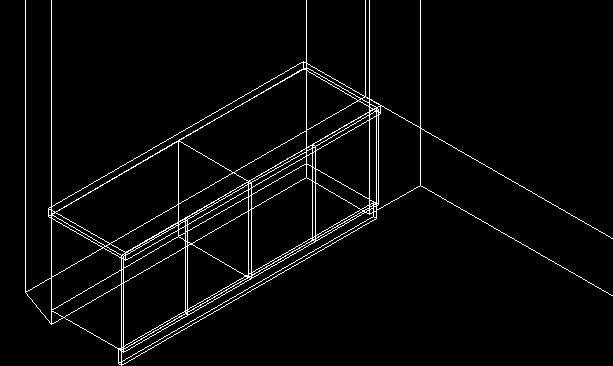 cad3维立方体和立方体之间v之间cad打印图纸a0图片