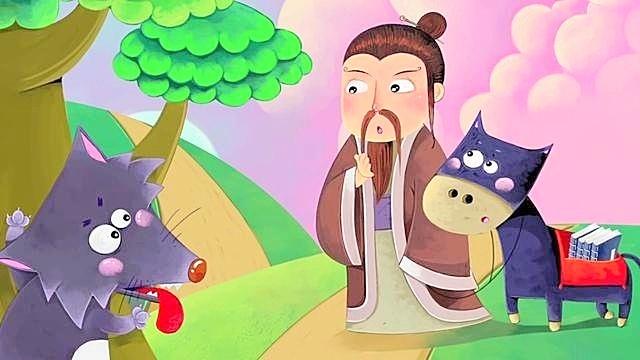 幼儿早教-中国经典童话故事18《东郭先生和狼》-呼噜博士