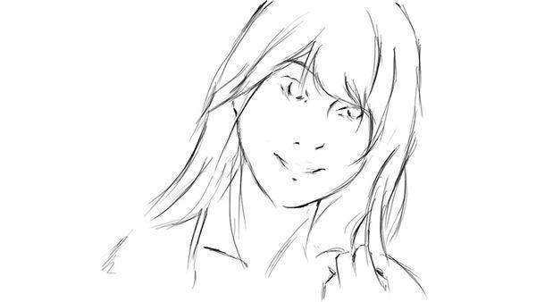 根据真实人物漫画所画出来的通过照片体是手绘漫画腿女图片