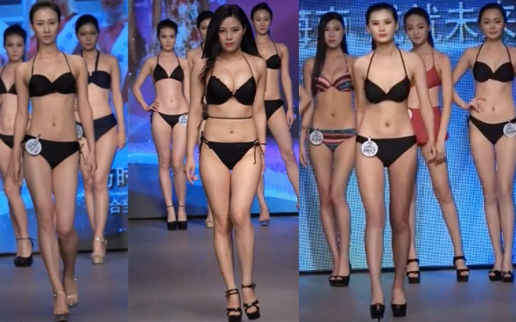 2016精功国际模特大赛,武汉赛区模特性感比基尼秀
