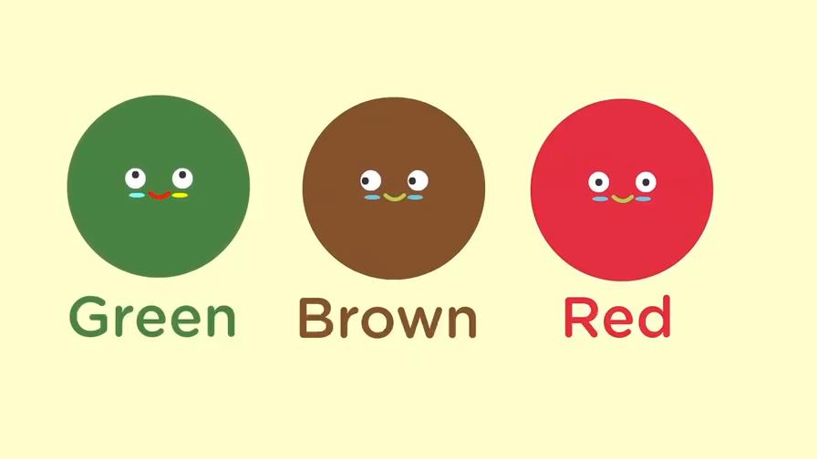 颜色英语启蒙早教 颜色英文单词 动物颜色中英文