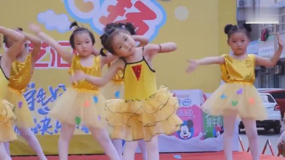 视频:幼儿园中班舞蹈《感觉自己萌萌哒》,超可爱萌宝强力来袭
