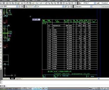 从CAD中导出表格变电站cad图纸v表格图片