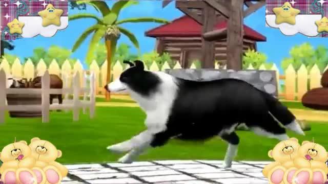 森林运动会酷玩之认识动物乐园的动物动画视频