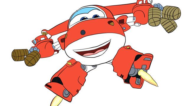 超级飞侠乐迪送货儿童亲子简笔画