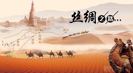 """""""陆上丝绸之路""""是连接中国腹地与欧洲诸地的陆上商业贸易通道,形成"""