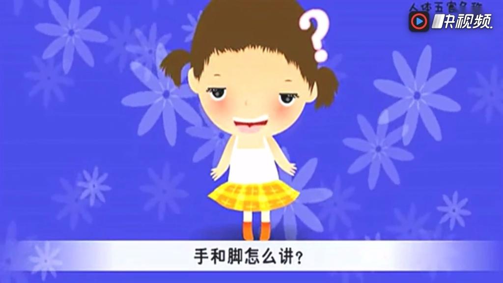 幼儿英语:人体五官名称用英语怎么说?看动画学英语