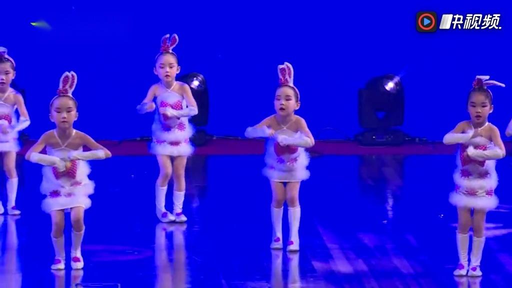 058号 幼儿舞蹈《可爱颂》 星耀杯舞蹈大赛2017年12月
