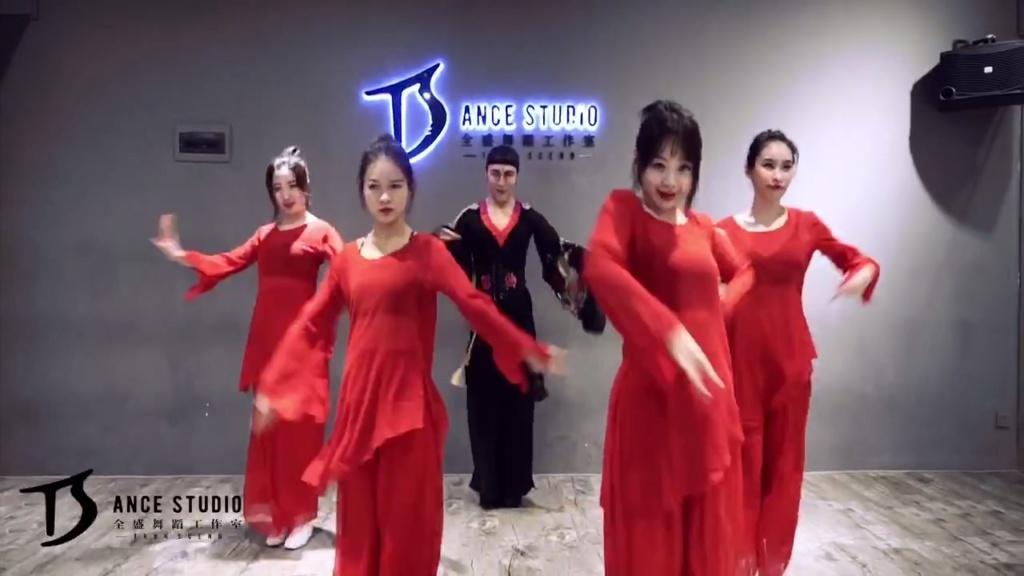 简单中国风舞蹈教学图片