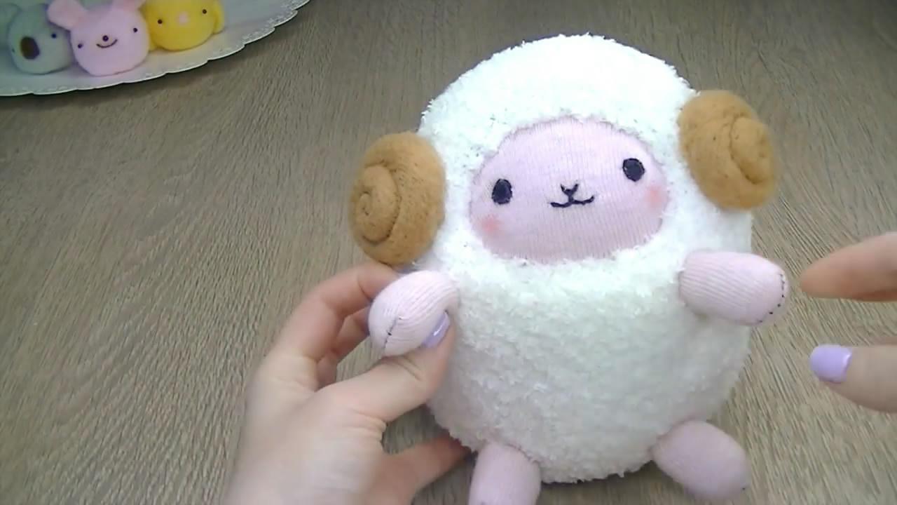 """创意手工diy,教你用袜子制作""""绵羊娃娃""""的方法"""