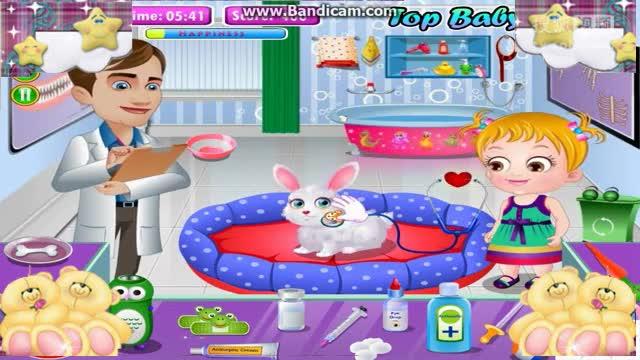宝贝酷玩可爱宝贝带宠物看病【酷玩世界】