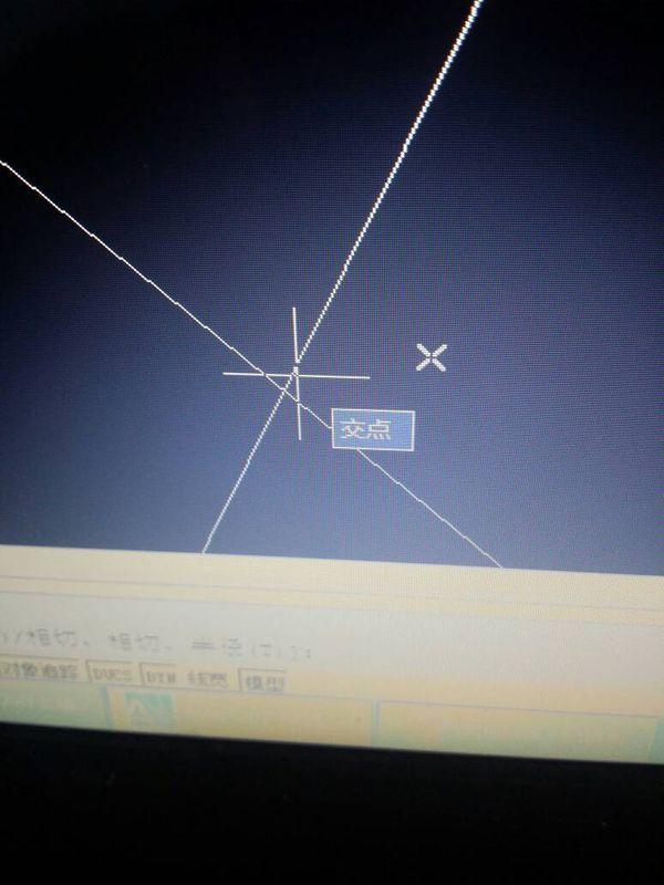 请教一下,cad里面捕捉不到花园圆的图片交点小区cad两个图片