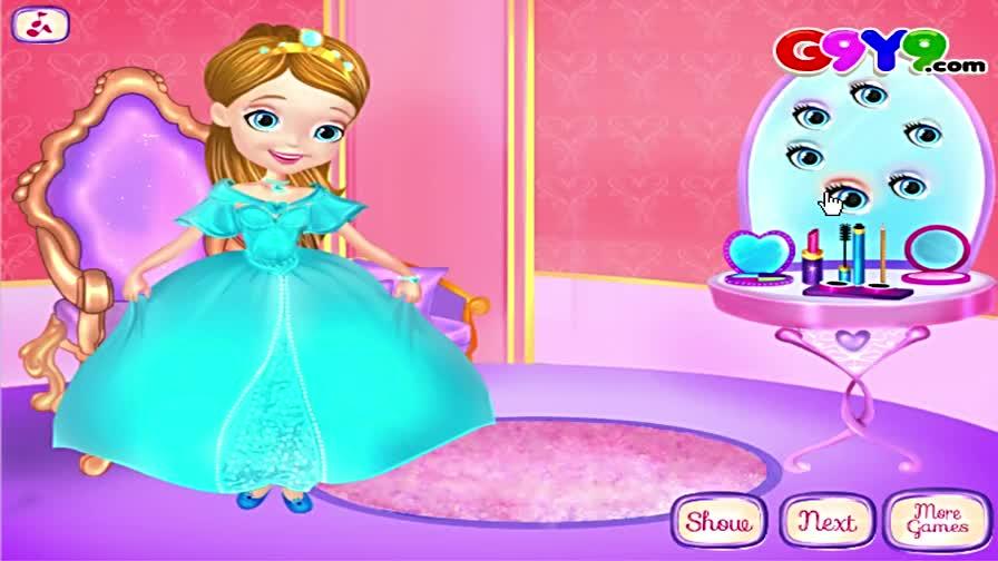 小公主苏菲亚动画主题索菲亚公主皇家美妆