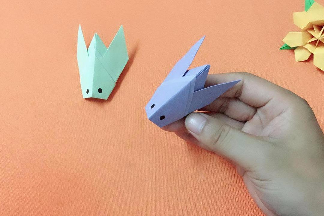 视频:幼儿园手工,折纸知了,非常简单的亲子手工折纸教程