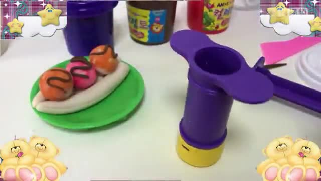 彩泥橡皮泥手工制作冰淇淋香蕉船亲子游戏 toy【酷玩世界】