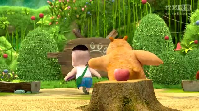 熊熊乐园动画片熊熊乐园40 看不见的世界.
