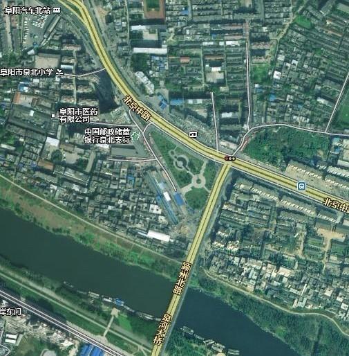 阜阳火车站到阜阳市颍泉区泉河桥北多远?怎么走?