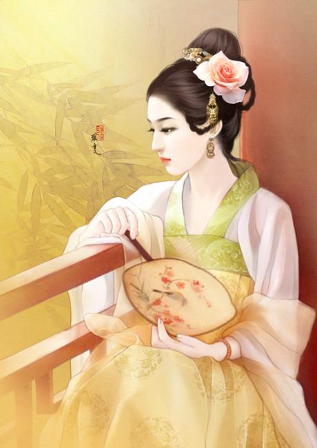 我在做一个橙光游戏,找人物图片,女主是个冷美人,古代