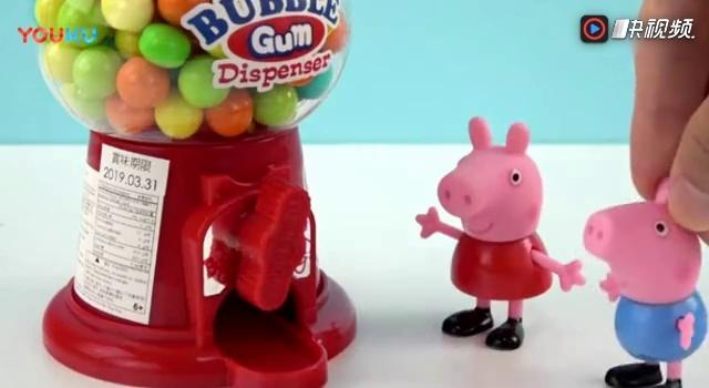 小猪佩奇玩具视频 橡皮泥手工制作 凯凯蒂猫彩泥颜色