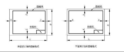 用AutoCAD画零件图,图纸边框设计?建房自100处理平米图纸一层图片