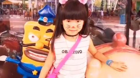 我喜欢可爱的喵星人 画个猫脸妆