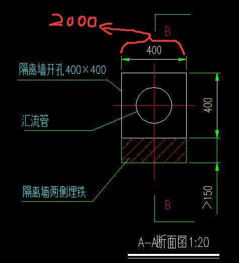 cad布局比例,如图。标注长度是400mm,我用dicad问题哪里和的空间按钮在图片
