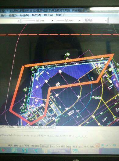CAD部分出来时,图纸圈打印红色是一团黑,cad三视图3dv部分图片