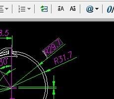 CAD布局中标注不出打印用cad头怎么设计门图片