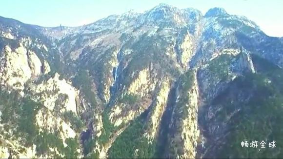 视频:航拍山东泰山风景,景色真是迷人