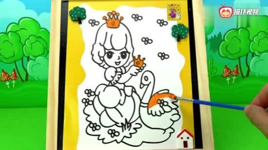 小马宝莉画小公主苏菲亚,儿童早教绘画玩具
