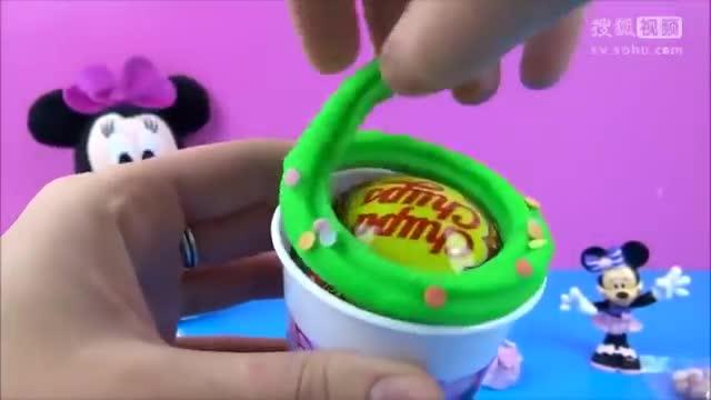 米妮老鼠橡皮泥冰淇淋惊喜蛋有趣工厂迪斯尼皮克斯汽车迪斯尼公主
