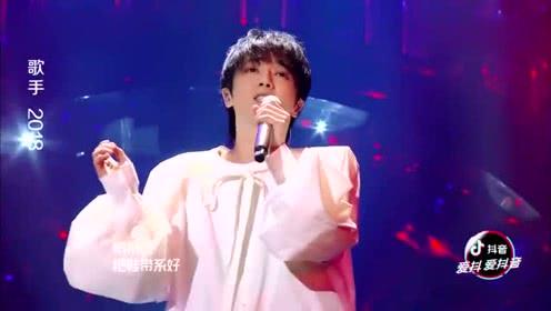 歌手2018:华晨宇狂飙高音6秒,连对手都赞叹不已!惊呆全场所有人!