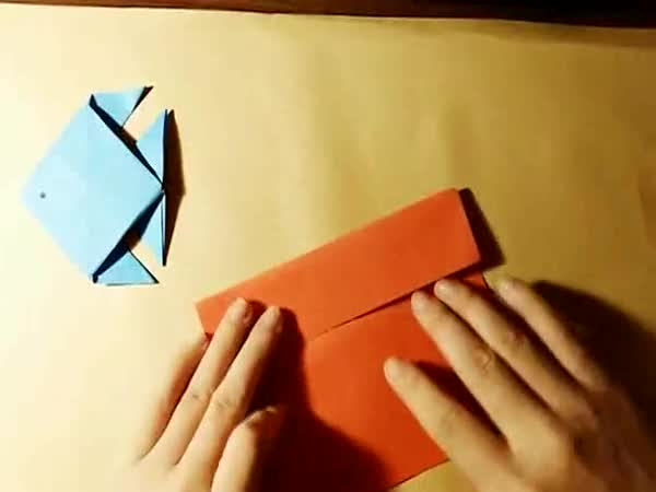 儿童折纸大全视频 鱼-魔方,折纸,绘画学习-小雷视频