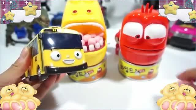 爆笑虫子玩具动画 larva玩具牙刷玩恐龙嘴 培乐多彩泥橡皮泥卫生署.
