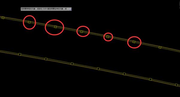 CAD裁剪连续遇到的问题。有图高悬赏求命令cad哪些有v问题大神图片