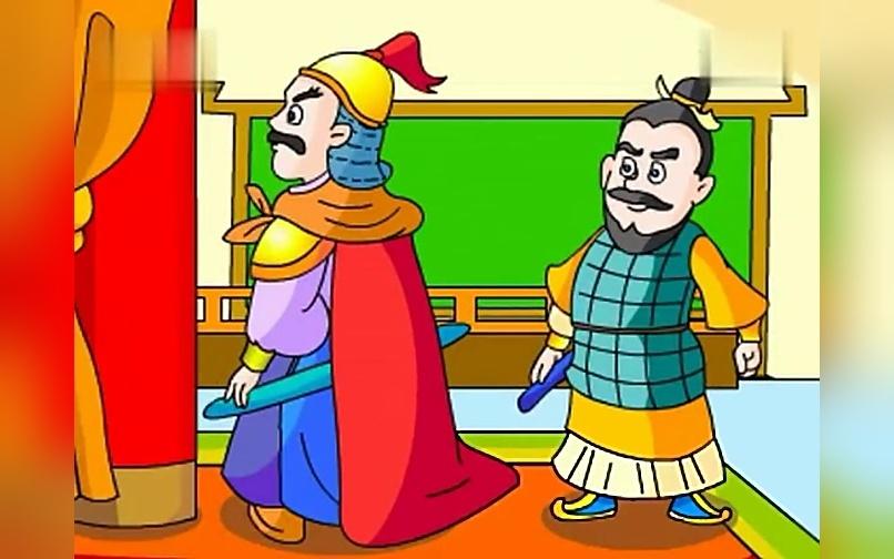 《背水一战》儿童成语识字故事精选童话动画片大全