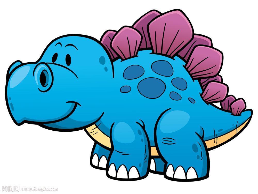 简笔画恐龙二-我们一起来画画 -固瓜玩具