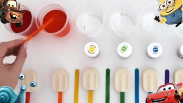橡皮泥手工制作汉堡_冰淇淋_切水果过家家视频