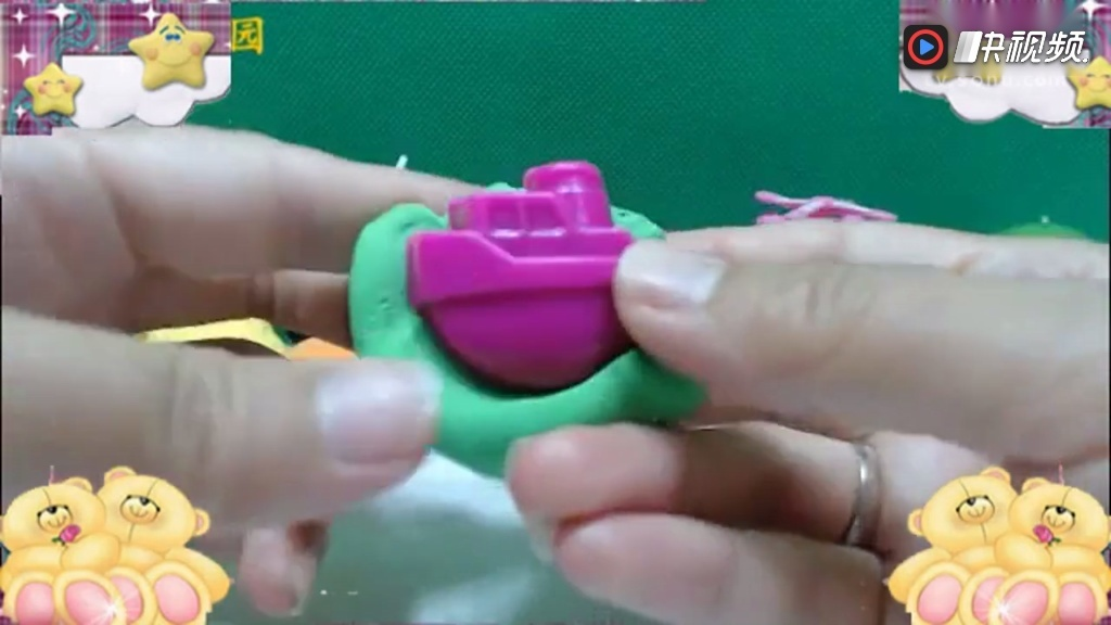 超级飞侠轻黏土手工制作视频 海底总动员 亲子益智手工