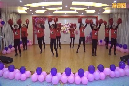 幼儿园教师舞蹈 广场舞《最炫民族风》