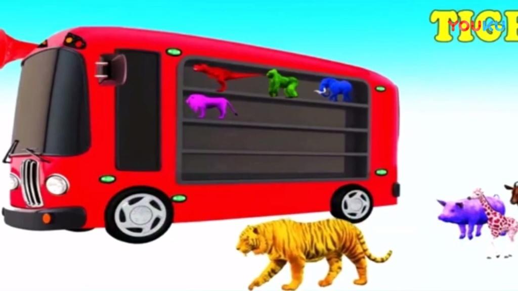 森林运动会亲子游戏之认识动物乐园的动物动画视频