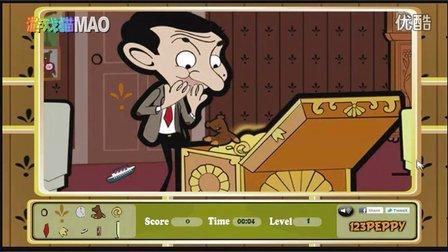 憨豆先生发廊打工 动画版卡通版搞笑 游戏猫