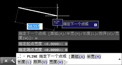 用CAD多段线画线时线宽变成很粗的请问改cad信息统计的图片
