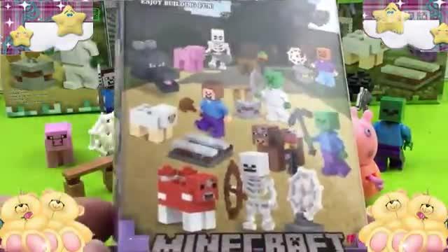 我的世界 minecraft 小猪佩奇 拼积木【玩家世界】