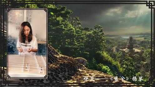 小漪:侠岚《风语咒》主题曲演奏版,小姐姐演奏的是扬琴!